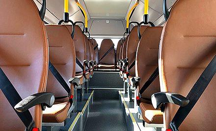 Interieur ebusco autobus