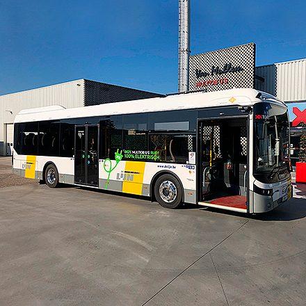 100% elektrische autobus Multiobus